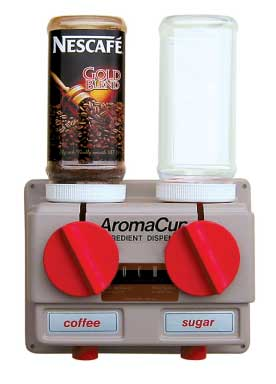 AromaCup AC2000 2 Canister Instant Hot Beverage Dispenser