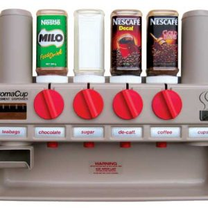 AromaCup AC600R 6 Canister Instant Hot Beverage Dispenser