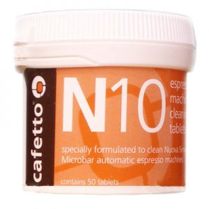 Cafetto N10 Coffee & Espresso Machine Cleaning Tablets 50 Pack