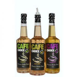 Cafe Choice Hazelnut Coffee Syrup