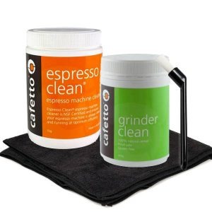 espresso machine cleaning bundle